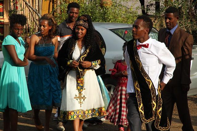 Celebrando la boda