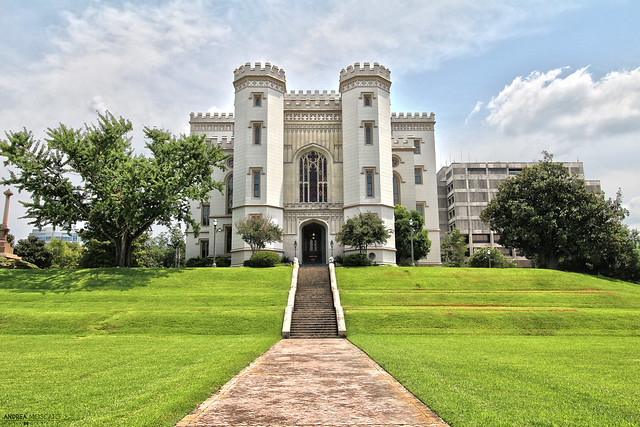 Old Louisiana State Capitol - Baton Rouge, Louisiana