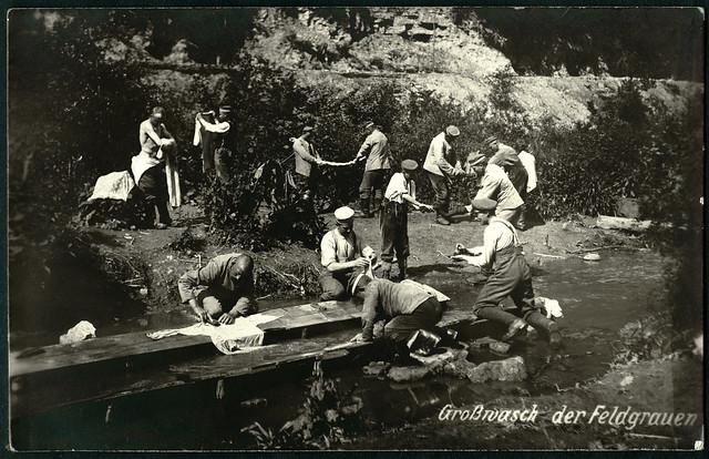 Archiv D745 Großwasch der Feldgrauen, 1910er