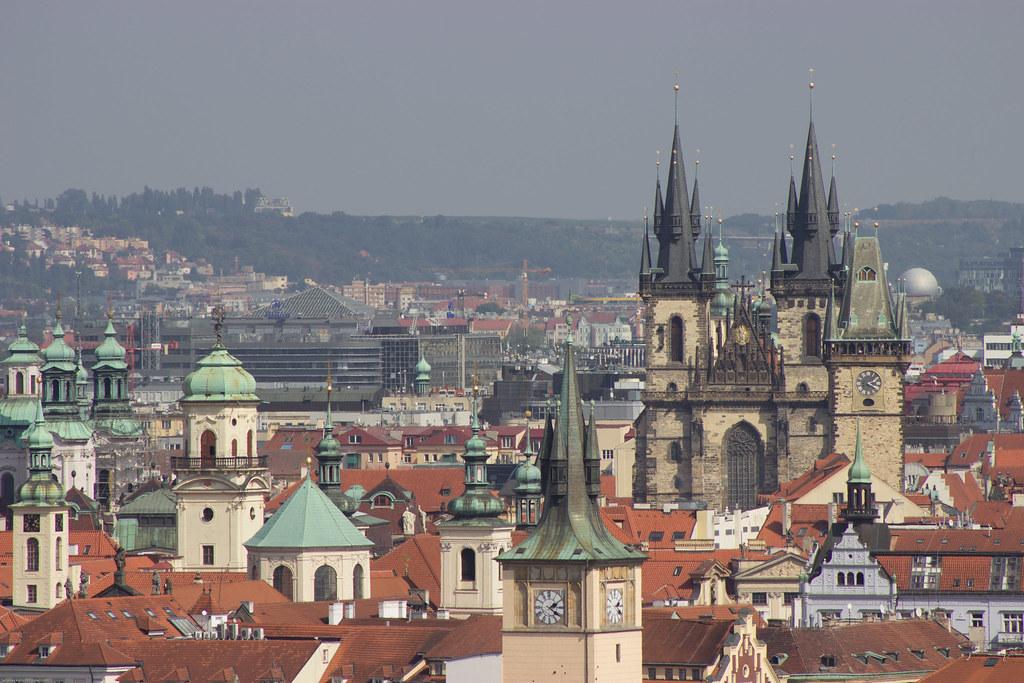 Voľný deň v Prahe