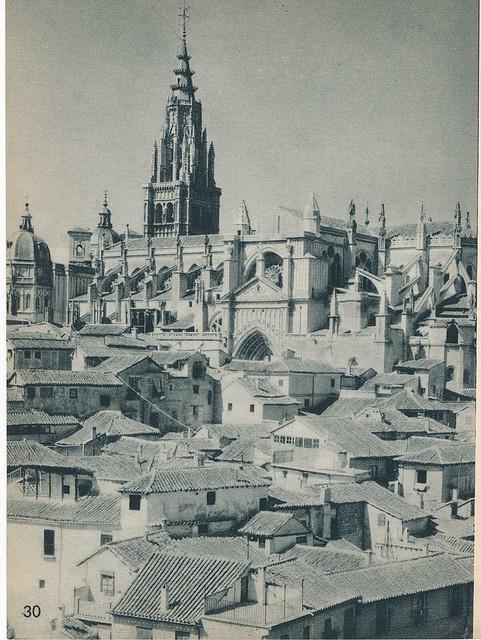 Catedral de Toledo en los años 50 por Nicolás Muller