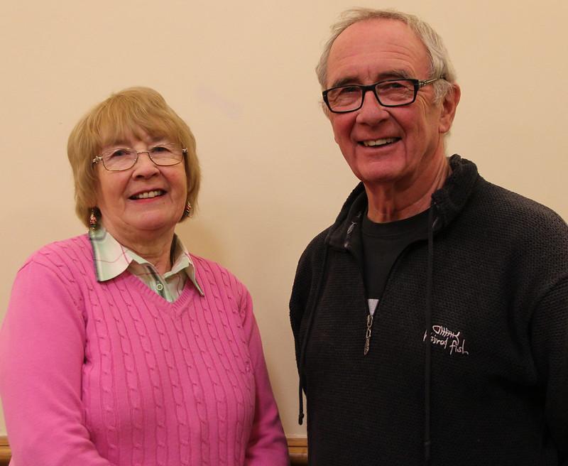 Sandra Capper (Mrs Bedwin) Ian Baines (Mr Brownlow)