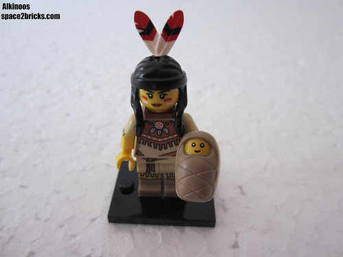 Lego Minifigures S15 femme tribale p2