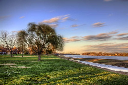 longexposure travel autumn sky tree horizontal river photography community wind scenic historic missouri getty stcharles hdr connection roadart 2015
