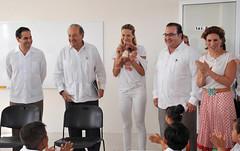 El gobernador Javier Duarte inauguró la Escuela Primaria Juan Maldonado Pereda 17