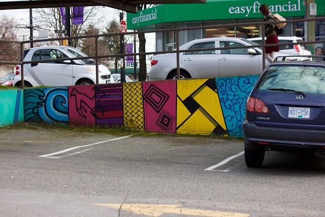 Parking Lot Art 003