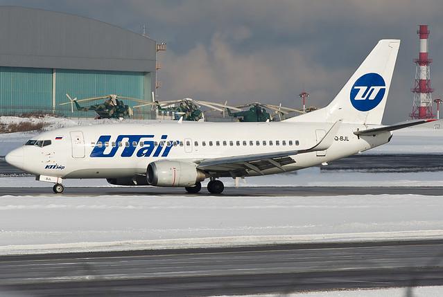 VQ-BJL  UTair Aviation Boeing 737-524