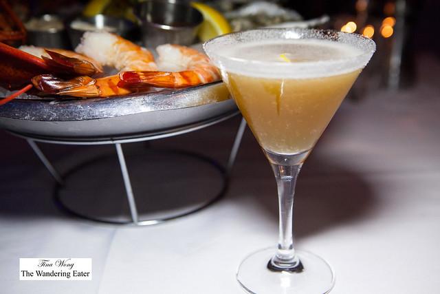 Sidecar - Remy Martin XO Cognac, Cointreau, Lemon & Sugar Rim