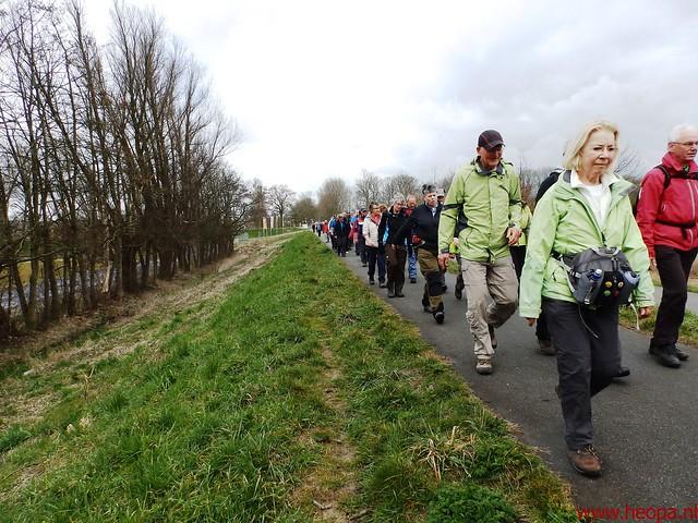 2016-03-23 stads en landtocht  Dordrecht            24.3 Km  (105)