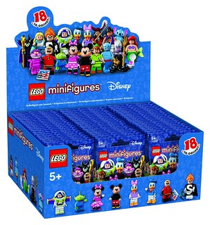 LEGO Disney Collectible Minifigures (71012) | by www.giocovisione.com