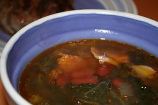 Portuguese Kale Soup (w/ Recipe)