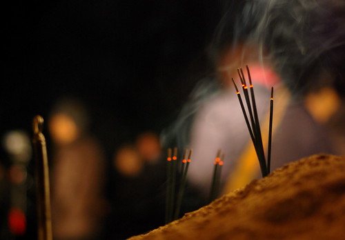 The first incense sticks of this year | by isado