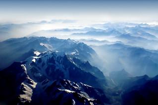 Mountains from Sky - Alps - Swiss and Italy - Alpi Svizzera e Italia - Dino Olivieri   by ! / dino olivieri / www.onyrix.com