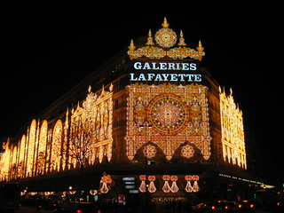Galeries Lafayette Christmas Decor on Exterior | by Enyad Retrac