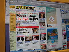 EFIT 08:26 - Aftonbladet launched nine local sites today | by skrivanet