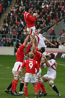 Owen Takes A Lineout | by Unofficial England Rugby