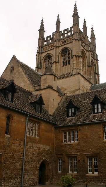 Old part of Oxford