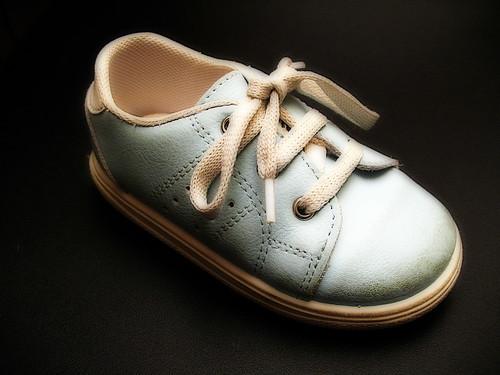 Jan's Little Blue Shoe