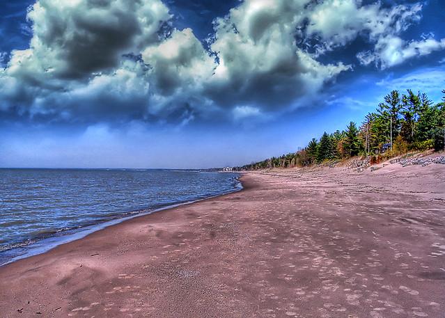 Lake Huron Beach HDR *