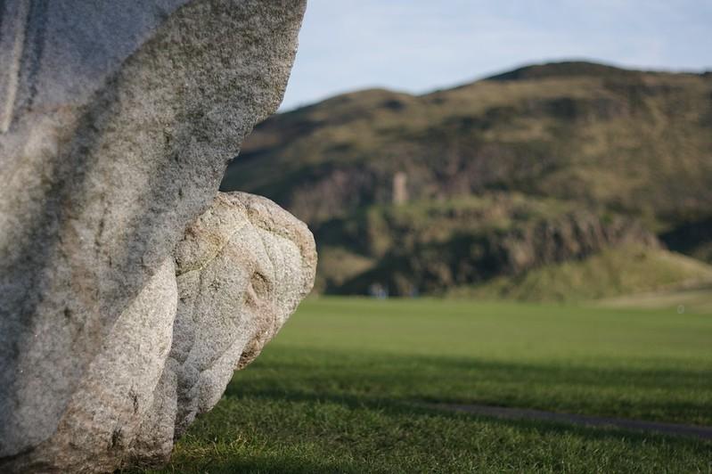 A big stone thing