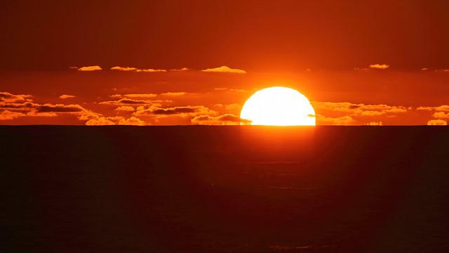 McClures Beach Sunset