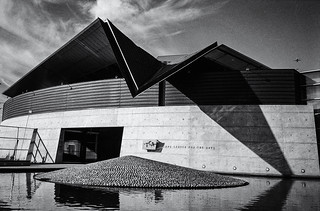 Tempe Center for the Arts-BW | by keycmndr (aka CyberShutterbug)