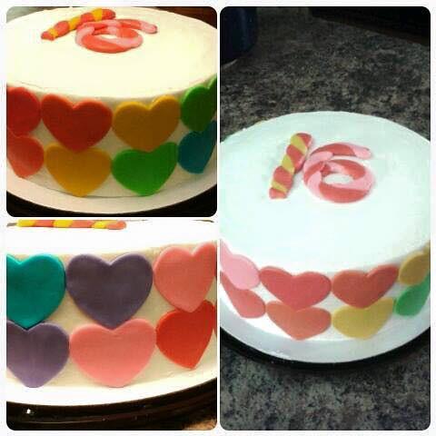 Awesome Sweet Sixteen Cake By Sonya Jacksonville Fl Birthday Flickr Funny Birthday Cards Online Kookostrdamsfinfo