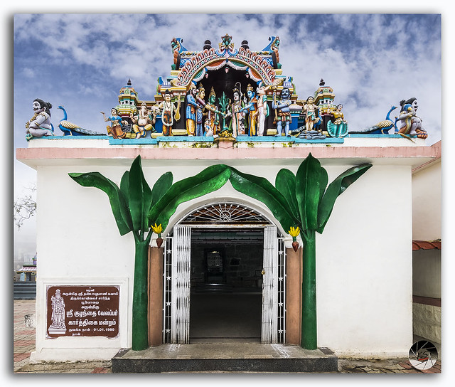 Kuzhanthai Velappar Temple at village Poombarai, Tamil Nadu, India
