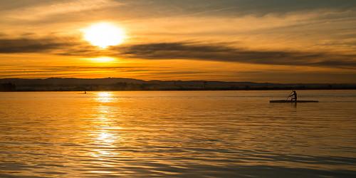 sky naturaleza sun seascape sol portugal nature water sunrise landscape boat agua nikon barca paisaje amanecer cielo ria aveiro torreira nikond800