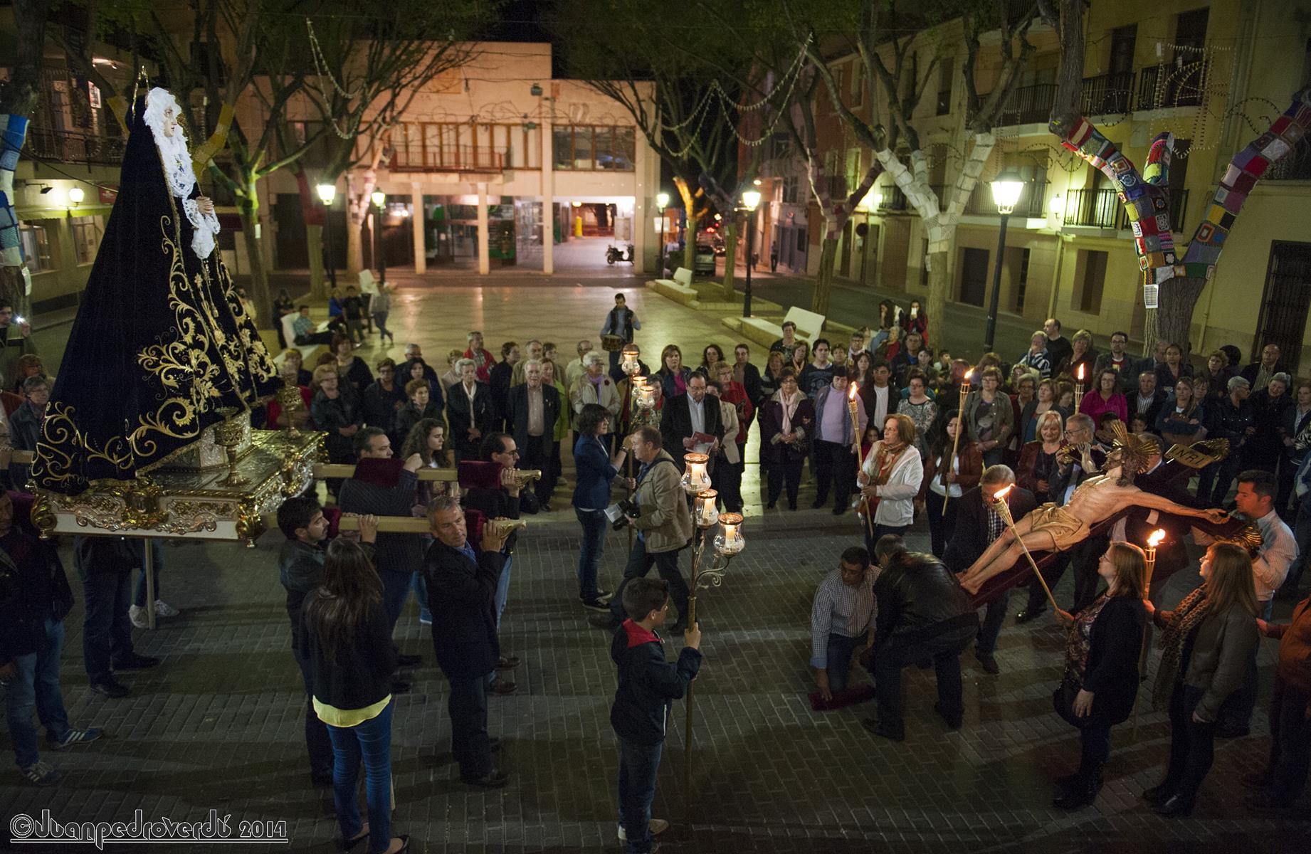(2014-04-01) - V Vía Crucis nocturno - Juan Pedro Verdú Rico (01)
