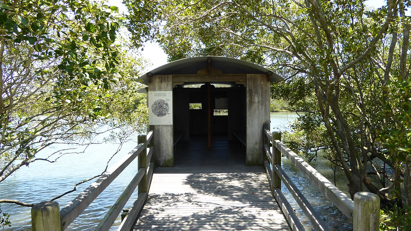 Birdhide at Boondall Wetlands