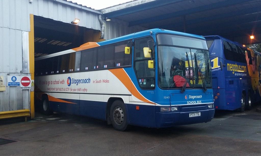super popular 7643b d544e Stagecoach 52401 P771TTG | Volvo B10M-62. Plaxton Premiere n ...