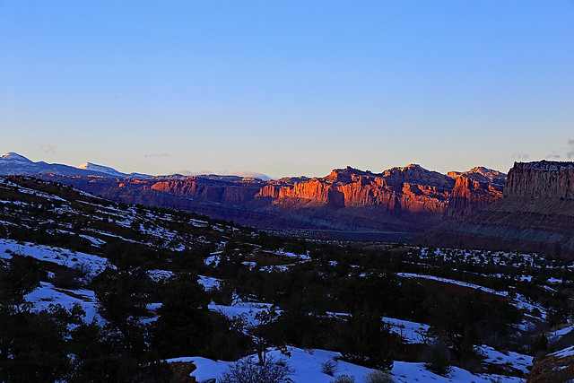 Capitol Reef Sunset, January 2016