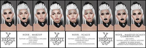 Hekate - Noir @ Skin Fair