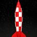 Tintin Rocket by Legohaulic