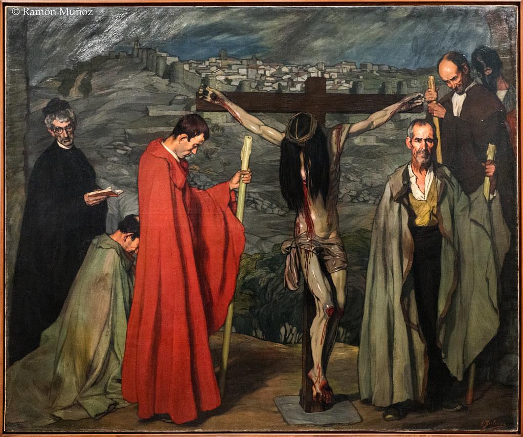DSC3704 Ignacio Zuloaga - El cristo de la sangre, 1911, MN… | Flickr