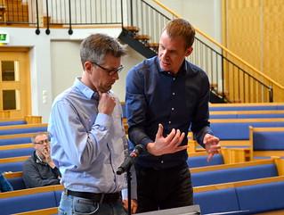 Mattias Hjortlinger får expertråd