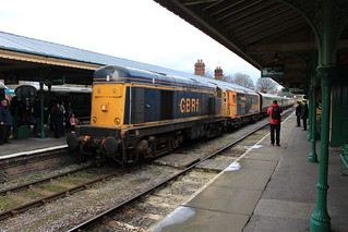 Bluebell Diesel Gala With GBRf 16th April 2016 | by Railwide