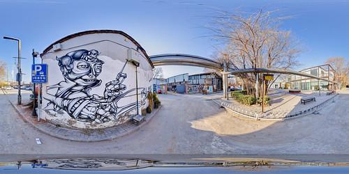 china streetart beijing virtualreality vr graffitiart equirectangular 360panorama dashanziartdistrict 798artzone googlecardboard iavrrc chaoyangdistrictofbeijing