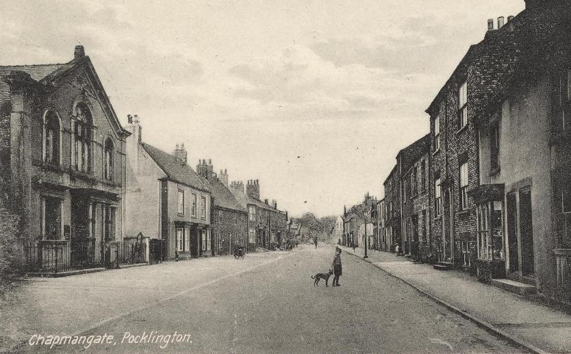 Pocklington, Chapmangate 1900s (archive ref PO-1-107-2)