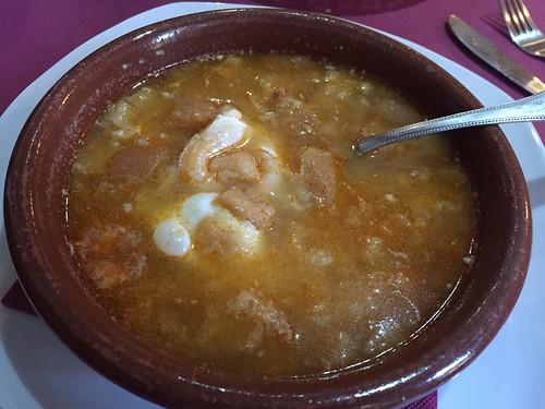 Sopa Castillana / Castillian soup, Restaurant Dragos, Toledo, Spain | by SeppySills