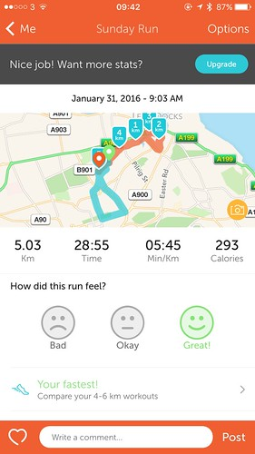 My first 5km run in under 30 minutes | by Coffee Muffins