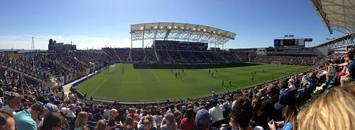 WFU at  Philadelphia Union Game 2013
