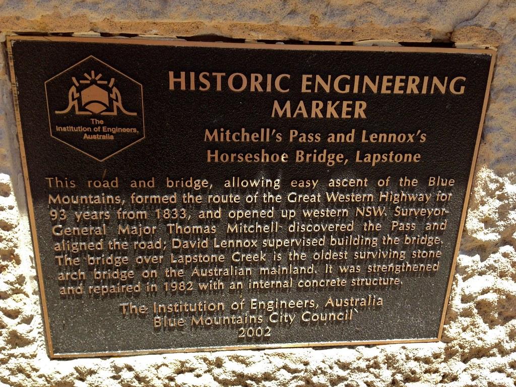 Lennox Bridge (Horseshoe Bridge) - Lapstone, NSW
