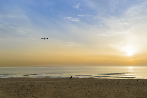 travel sunset sea sky people lebanon beautiful clouds plane sand couple horizon gursky gurskesque