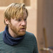Brian Gleeson in rehearsals for The Weir, Roseburn Workshops, The Lyceum (2)