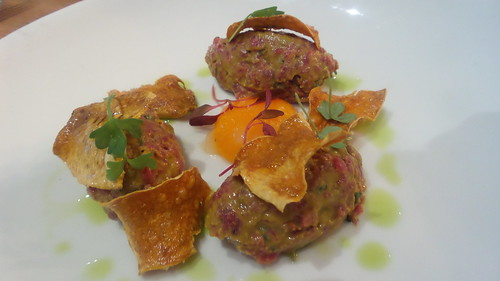 Beef tartare at the Moseley | by azp74