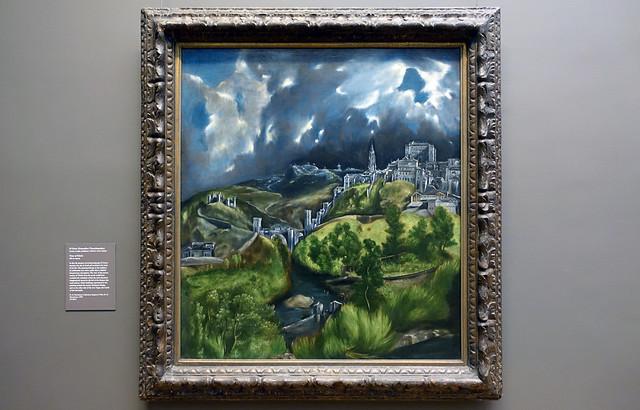 El Greco, View of Toledo