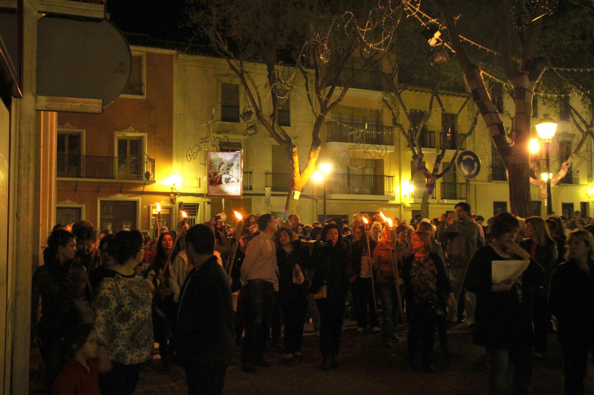 (2014-04-01) -  V Vía Crucis nocturno - Javier Romero Ripoll (84)