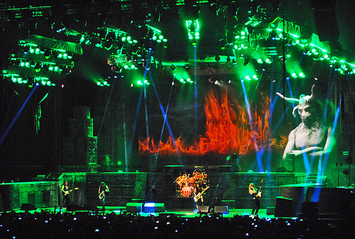 world set sunrise lights concert tour florida live stage fortlauderdale ironmaiden ftlauderdale 2016 thebookofsouls